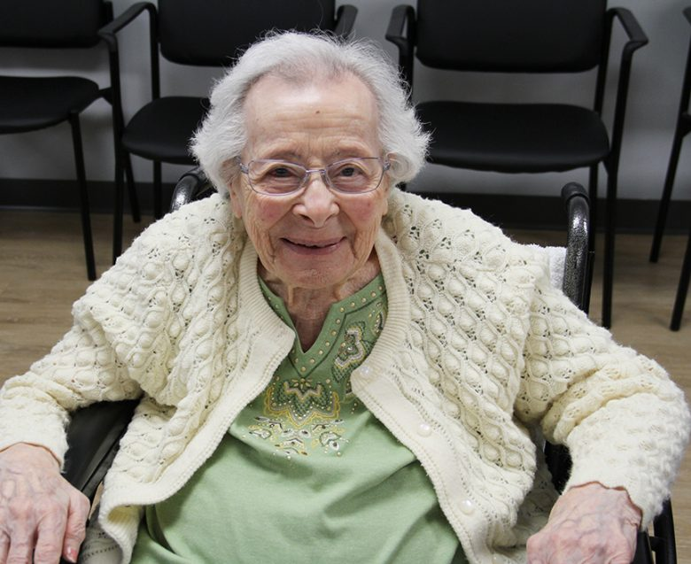 Madeline Malerba turns 100