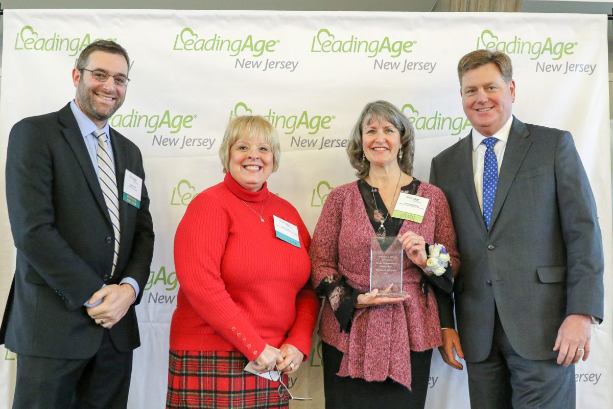 Bingenheimer Accepts LeadingAge Excellence in Direct Care Award