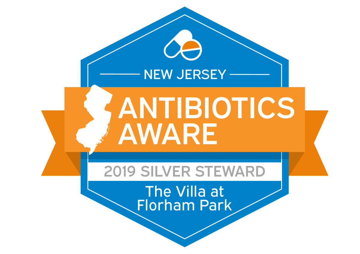 NJ Antibiotics Aware Silver Steward Badge
