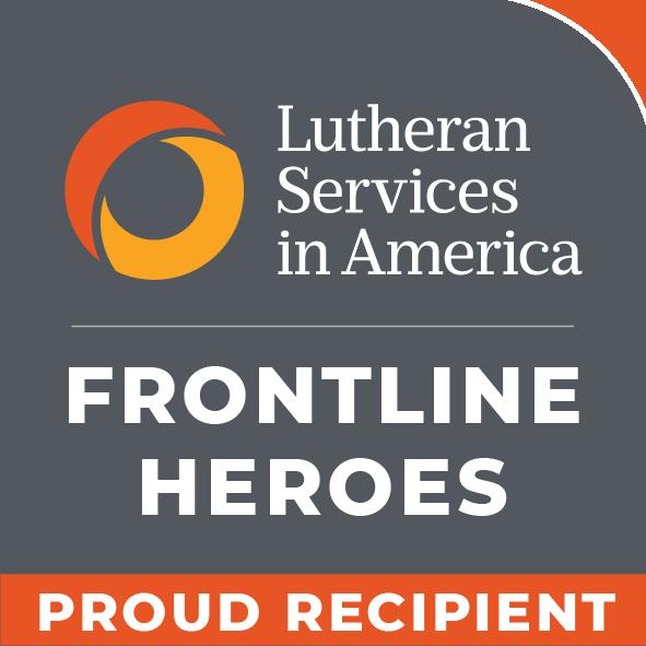 LSA Frontline Heroes Badge