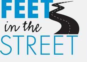 Feet in the street logo