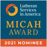 Micah Award Nominee Badge