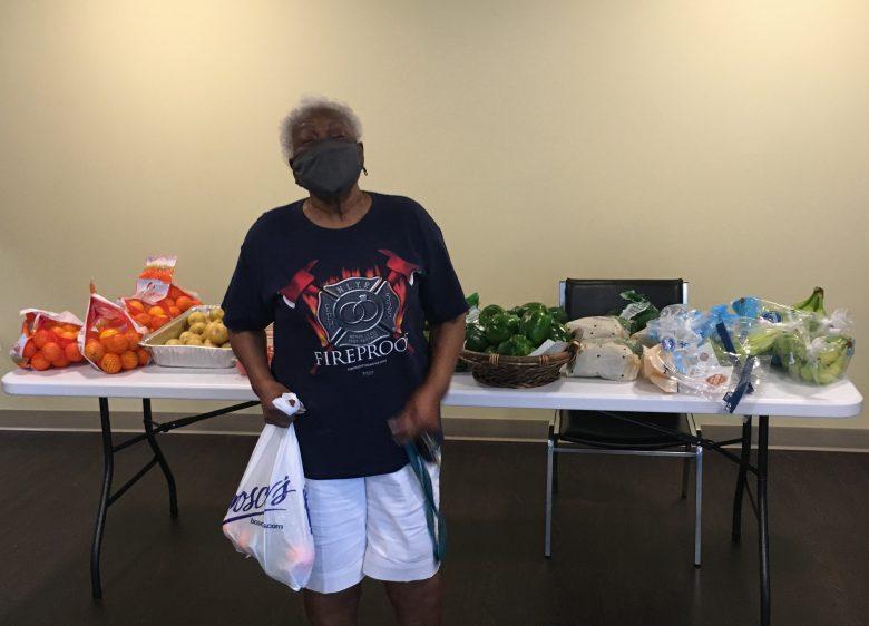Pennsauken resident receives fresh produce